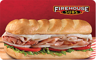 Firehouse Subs $100 Gift Card (10x$10)
